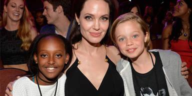 Angelina Jolie und ihe Töchter