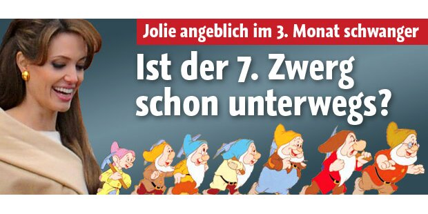 Angelina Jolie: Kommt Baby Nummer 7?