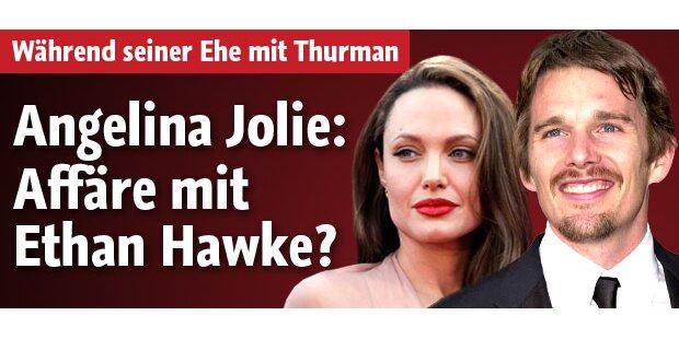 Angelina Jolie: Affäre mit Ethan Hawke?