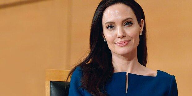 Jolie: Gesichtslähmung nach Scheidungs-Drama