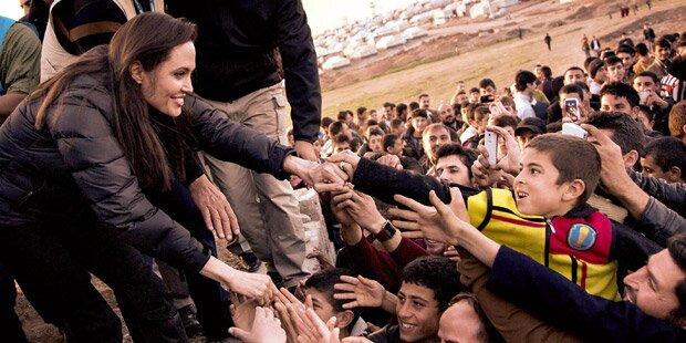 Jolies Kampf gegen IS-Terror