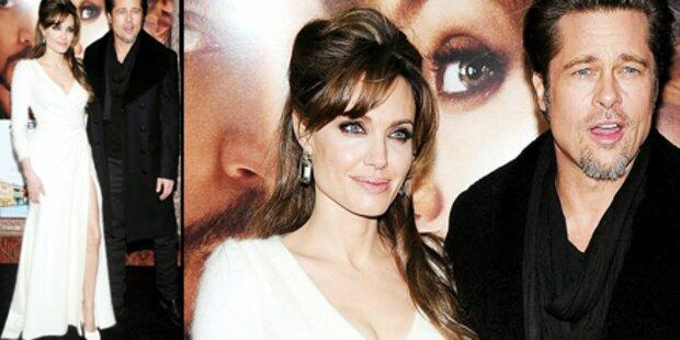Jolie schön wie eine Schneekönigin