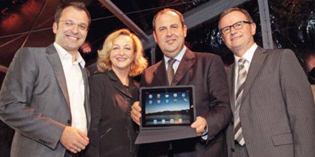 """Ein iPad für """"schwer erreichbaren"""" Pröll"""
