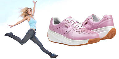 Joya Schuhe gegen Orangenhaut Cellulite gewinnen