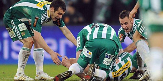 Patocka diesmal Matchwinner gegen Mattersburg
