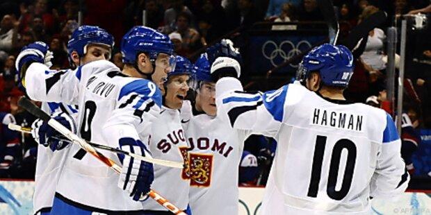Finnland holt mit 5:3-Sieg Eishockey-Bronze