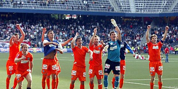 Salzburg verspielte vorzeitige Meisterfeier