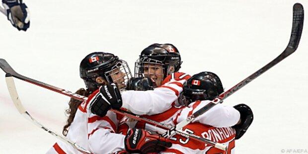 Traumfinale Kanada-USA im Damen-Eishockey perfekt