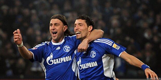 Schalke übernimmt Tabellenführung in Deutschland