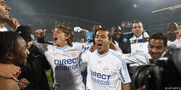 Olympique Marseille neuer französischer Meister