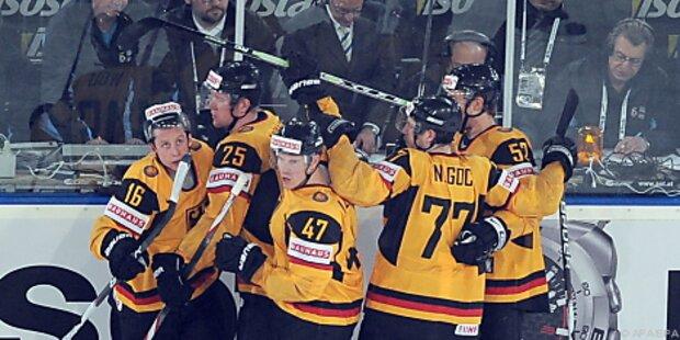 Deutschland-Sieg über USA zum Eishockey-WM-Auftakt