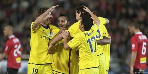 Barca legte im Titelkampf mit 1:0 auf Mallorca vor