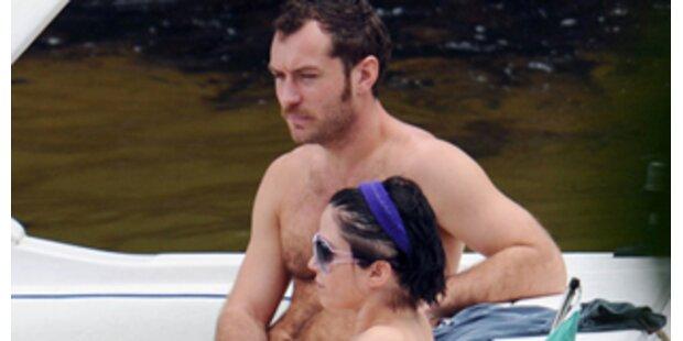 Jude Law: Familienurlaub mit Ex-Frau in Brasilien