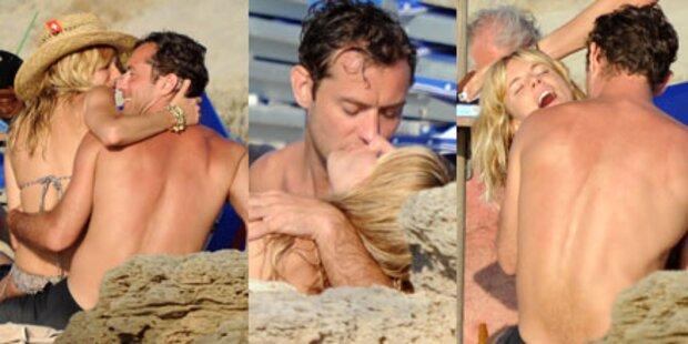 Jude Law & Sienna Miller: Liebesurlaub