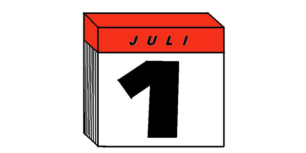 Revolutionen ab 1. Juli 2013