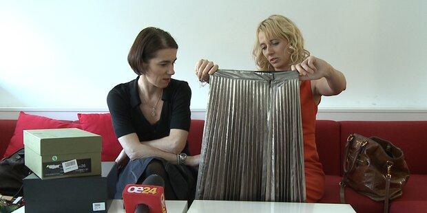 Julia & Karin teilen ihre Shopping-Beute