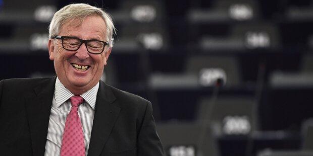 Juncker will Flüchtlingspolitik nicht ändern