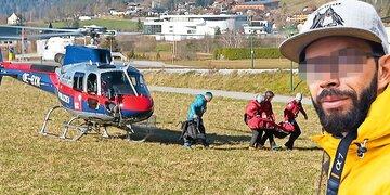 Leiche per Polizeihubschrauber geborgen: Junger Fotograf stürzte bei Bergtour in Tirol in den Tod