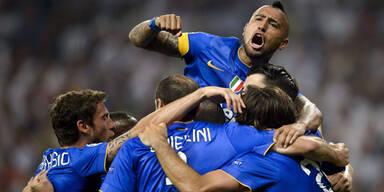 So feiern Juve-Stars das Finale