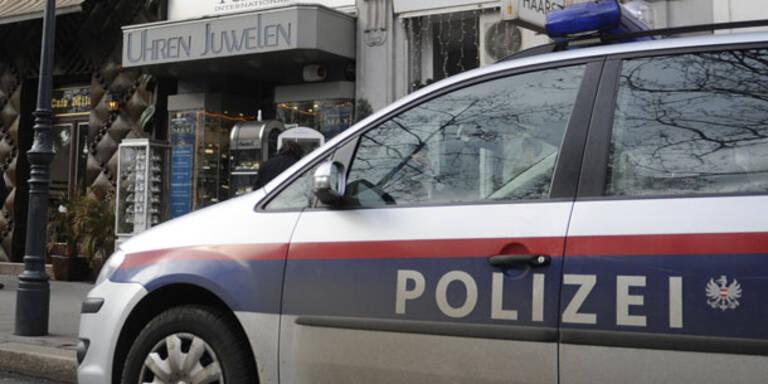 Weihnachts-Überfall auf Wiener Juwelier