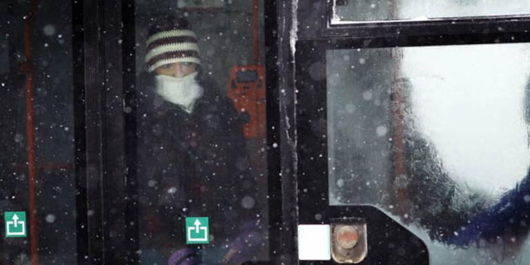 17 Kältetote in Polen