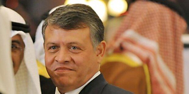 Jordaniens König feuert Regierung