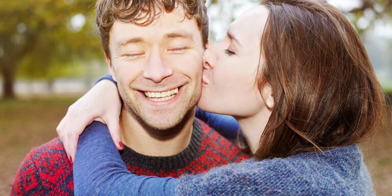 Was sagt ein Kuss über die Beziehung?