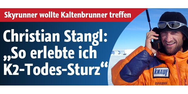 So erlebte Christian Stangl das K2-Drama