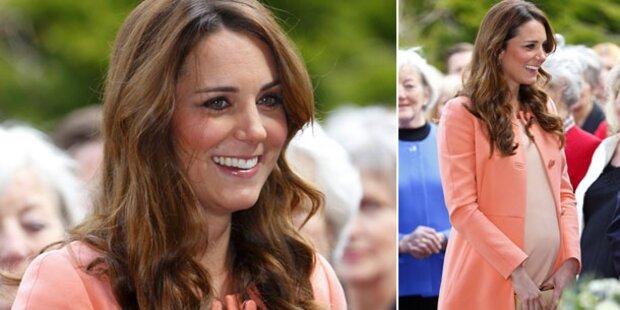 Kate wird für ihr Kind zur Löwin