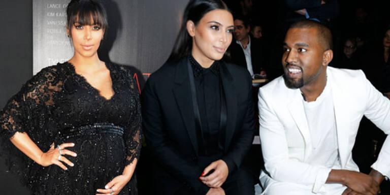 Kardashian: Kanye liebt ihre Baby-Kurven