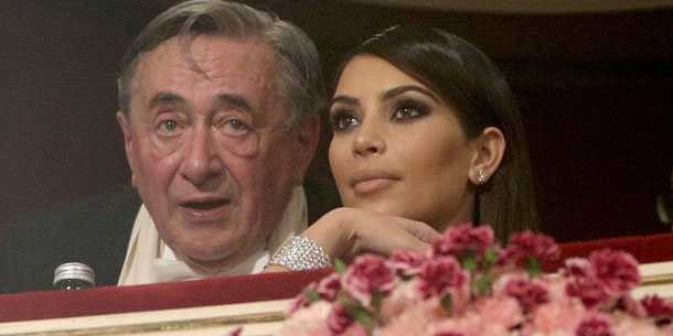 Opernball: Kim Kardashian & Richard Lugner