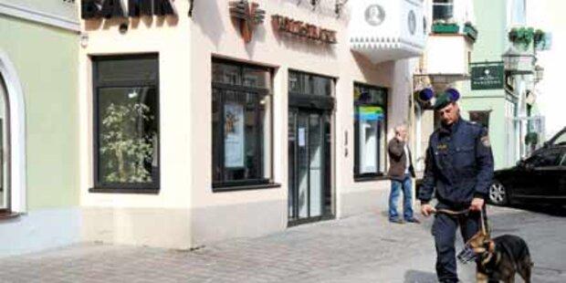 Polizei fasst Bankräuber von Kitz
