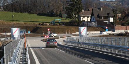 Autobahn-Halbanschlusses Hagenau