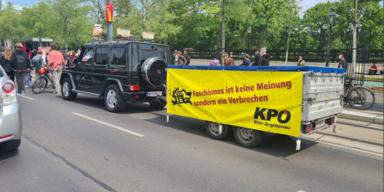 KPÖ mit Mercedes