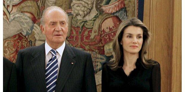 Hasst König Juan Carlos Letizia?