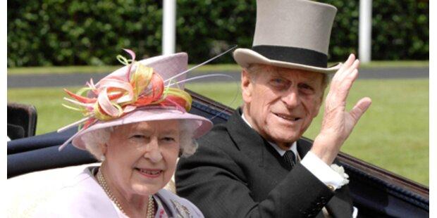 Prinz Philip trat wieder in Fettnapf