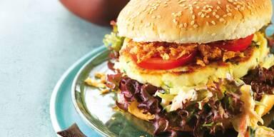 Kabeljau-Burger