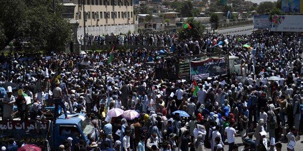Selbstmordanschlag in Kabul: Über 80 Tote