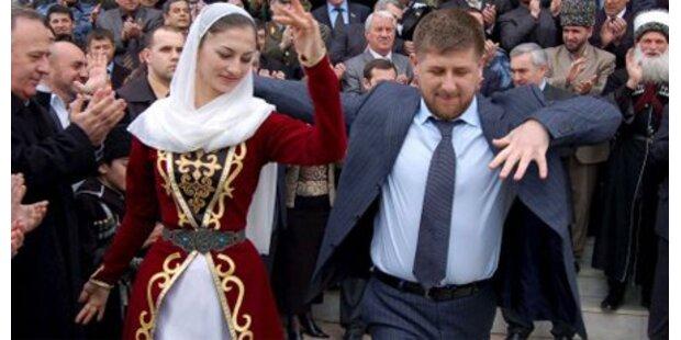 Präsident Kadyrow für Polygamie