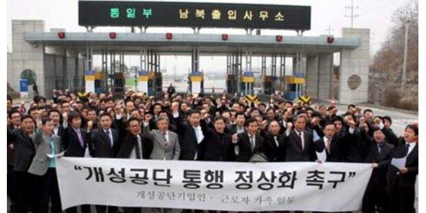 Koreanische Staaten beginnen Gespräche