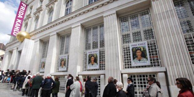Rekord: Schon 20.000 in Kahlo-Schau