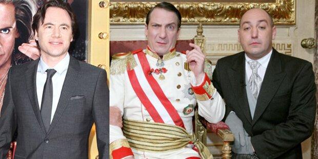 Der Kaiser feiert mit Bully Weihnachten