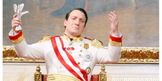 Kaiser dankt (vorläufig) ab