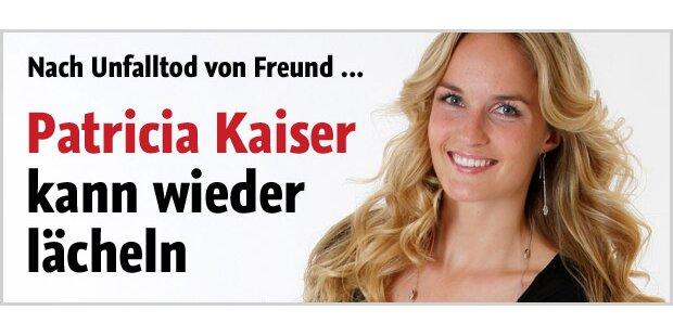 Patricia Kaiser kann wieder lächeln