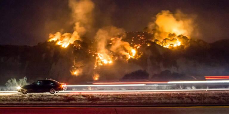 US-Westküste leidet unter Waldbränden
