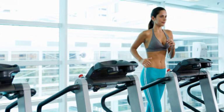 Kalorien und Bewegung, Fitness Center, Laufen
