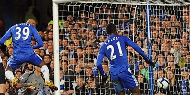 Chelsea nach 7:0 gegen Stoke wieder vorne