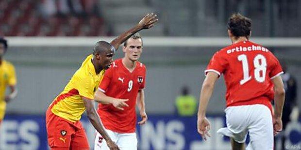 WM-Starter Kamerun, Slowakei testen in Österreich