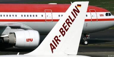 Kampfmaßnahmen bei Air Berlin und LTU möglich