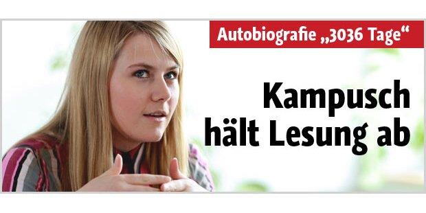Natascha Kampusch hält Lesung ab